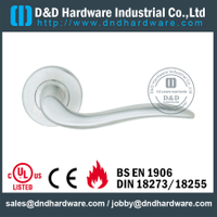 SUS304 contemporary solid door handle for Interior Door - DDSH185