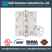 ANSI / BHMA GRADE 1 SS304 4 BB Fire Rated Door Hinge -4.5x4x4.6mm