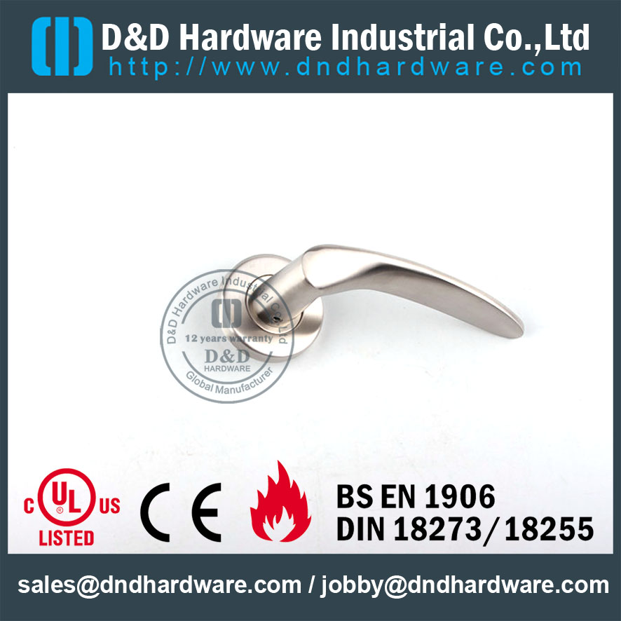 D&D Hardware-Fire rated Solid handle DDSH001