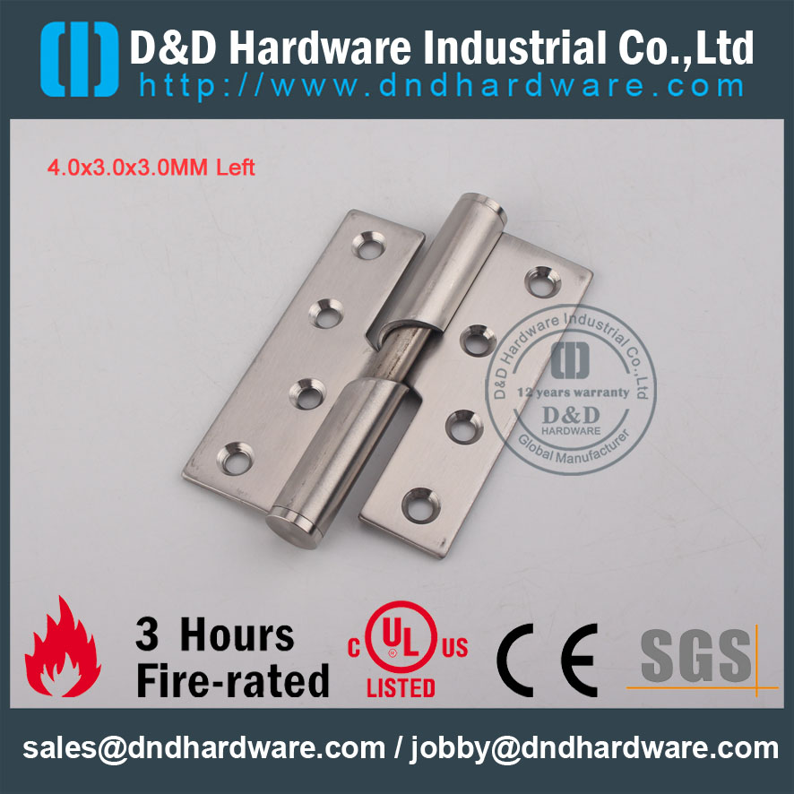 D&D Hardware-CE Certificate Fire Rated Rising hinge DDSS016