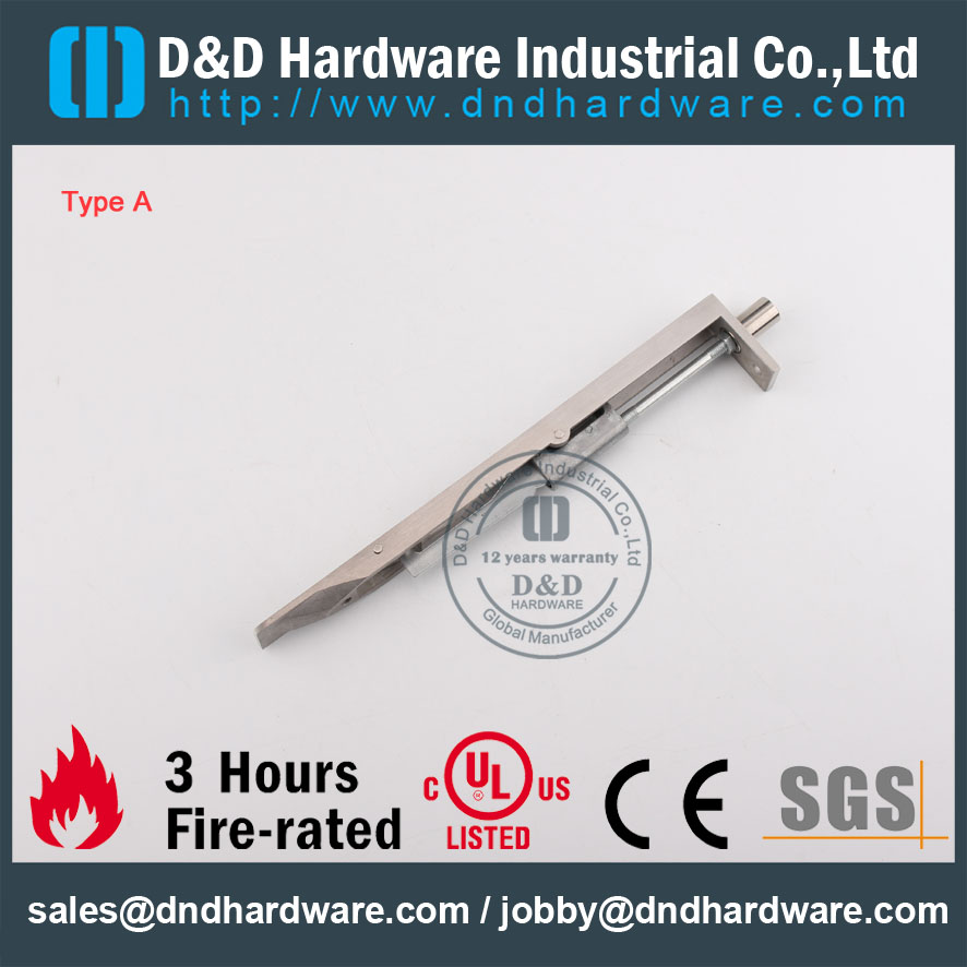 D&D Hardware-Architectural Hardware SS304 Door Bolt DDDB001
