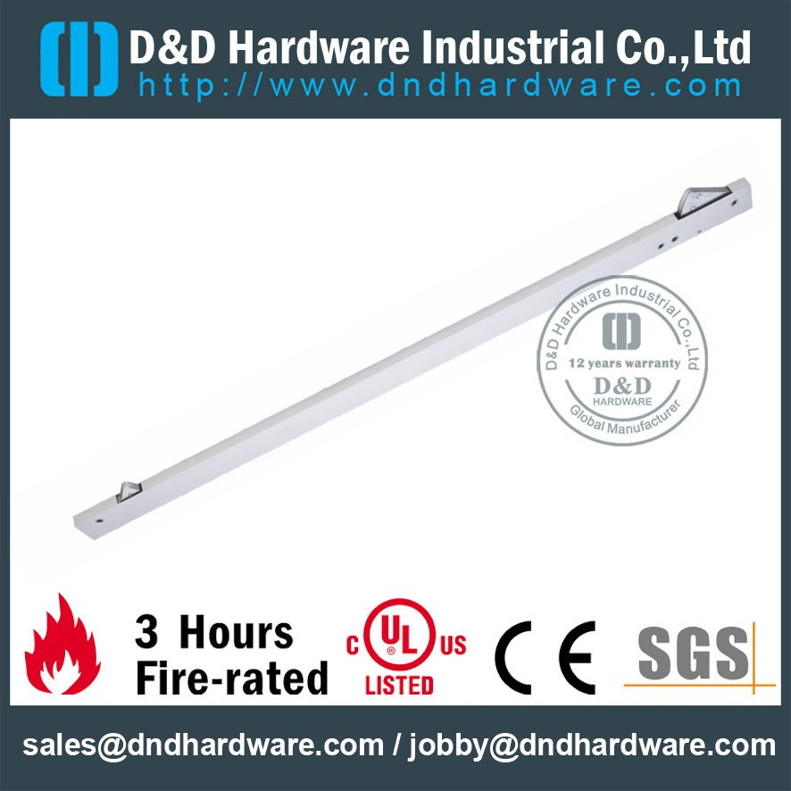 Stainless Steel Door Coordinator-D&D Hardware
