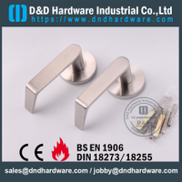 Stainless Steel 304 Durable Bent American Door Handle for Wooden Door-DDAH002