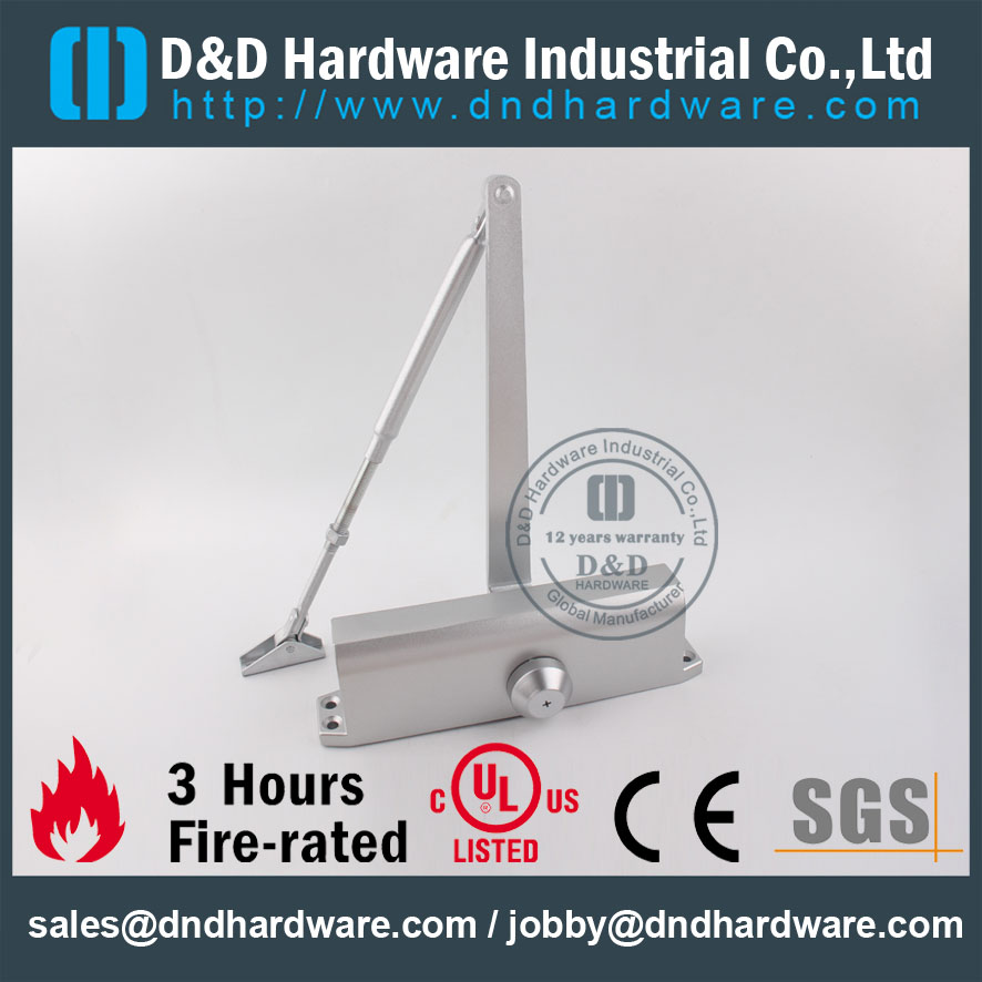 D&D Hardware-CE Certificate Fire Rated Door closer DDDC-074