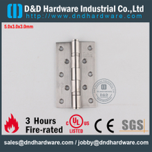 SS304 UL Fire Rated 2BB Hinge for Office Door-DDSS005-FR-5x3x3.0mm