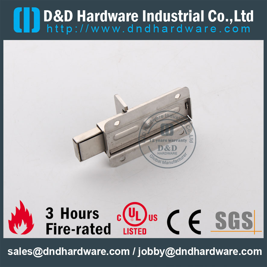 D&D Hardware-Construction Hardware Stainless Steel Door Bolt DDDB013