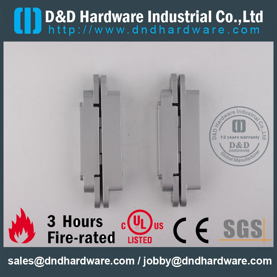 CH008-Zinc Alloy 3-D Adjustable Invisible Hinge 40KG for Commercial Metal Door
