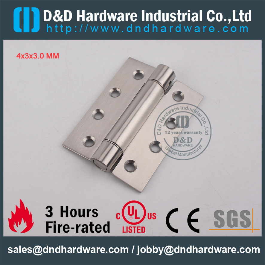 D&D Hardware-SS304 Decorative Design Spring Hinge DDSS033