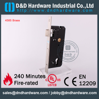 Brass 85 Entry Mortise Lock for Steel Door-DDML016