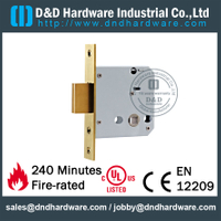 Stainless steel 304 Deadbolt Lock body for Aluminum Door-DDML029-B