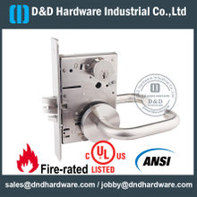 SS ANSI Latch Door Lock-DDAL09-F09