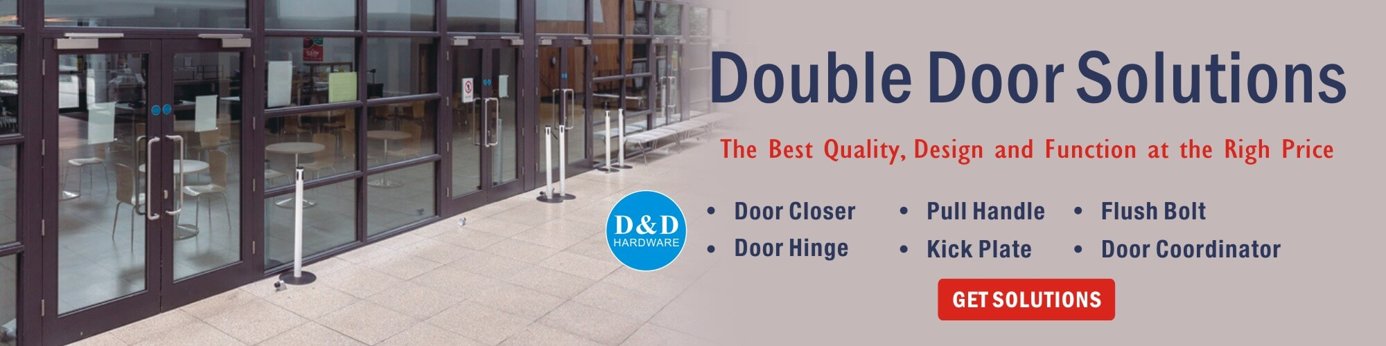 Double-door solution