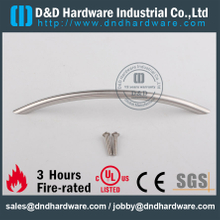 Stainless Steel 201 Solid Curve Furniture Handle Pull for Kitchen Doors –DDFH002