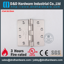 SUS316 High Quality UL Listed Fire Rated Ball Bearing Hinge for Outer Door-DDSS002-FR-4.5x4.5x3.0mm