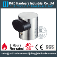 Stainless steel L-shaped wall mounted door holder with rubber for Metal Door- DDDS102