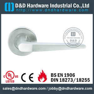 Stainless Steel 304 Casting Lever Handle for Double Wood Doors-DDSH070