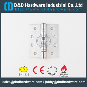 SS304 CE Fire Rated 2BB Door Hinge-DDSS001-4x3.5x3.0mm