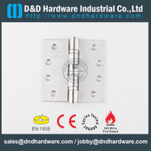 SS201 BS EN 1935 Grade 13 CE Ball Bearing Butt Hinge for Wooden Door/ Metal Door -DDSS001-CE-4x4x3.0mm