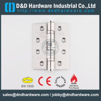 SS304 CE Door Hinge for Metal Door -DDSS001-4x3x3.0mm