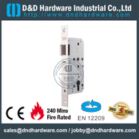 CE SS304 Mortise Fire Rated Door Lock -DDML026