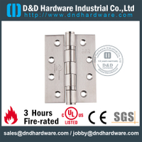 SS304 Fire Rated UL 2BB Hinge-DDSS001-FR-4x3x3.0mm