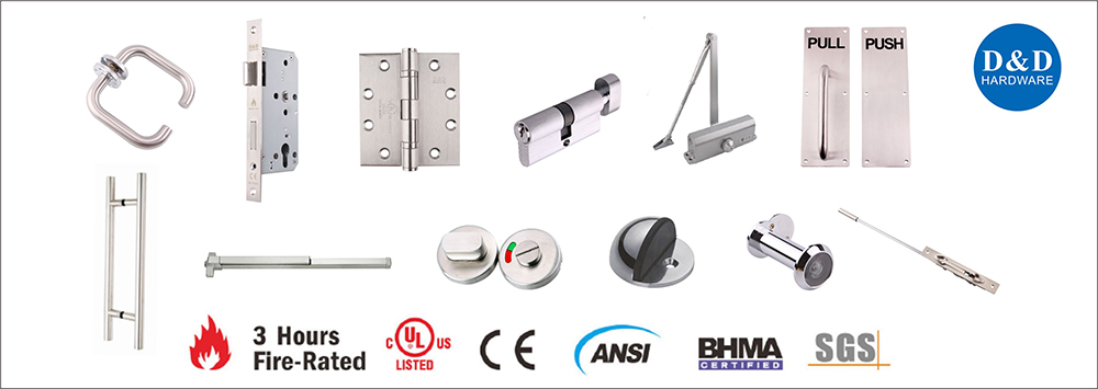 How To Choose The Right Metal Door Hardware Solution-D&D Hardware