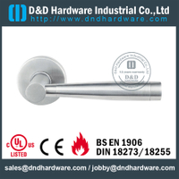 SS304 popular solid door handle for Interior Door - DDSH205
