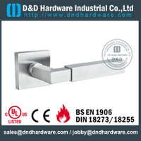 Stainless Steel Interior Designer Solid Lever Handle for Wood Doors-DDSH171