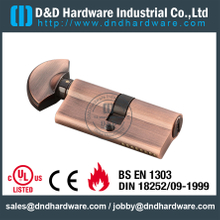 Brass Key and Turn Mortise Lock Cylinders-DDLC005