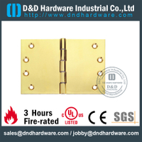 DDBH020-Solid brass rectangular board hinge for Entry Single Door
