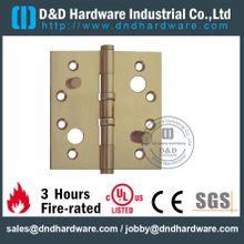 DDBH011-Solid Brass Double Security Hinge for Interior Wood Doors