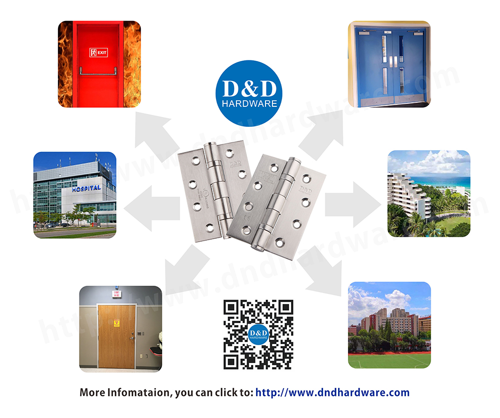 What are the characteristics of fire rated door hinge?