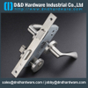 Stainless steel dead bolt lock with key operated for Restroom Door -DDML007