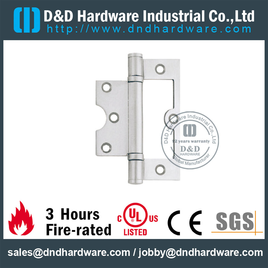 Stainless Steel 201 Flush Door Hinge-D&D Hardware