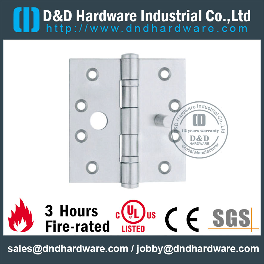Stainless Steel Single Security Hinge-D&D Hardware