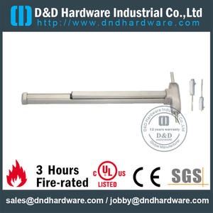 SS304 Emergency Escape Device for Metal Door with UL Listed-DDPD002