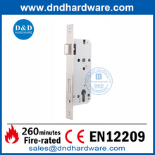 SUS304 CE Security Fire Rated Sash Lock for Commercial Door-DDML026