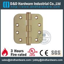 DDBH009-Solid Brass Plain Joint Round Corner Hinge for Aluminum Doors