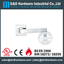 Stainless steel 304 Entry Designer Lever Handle on Rose for Wooden Doors -DDTH020