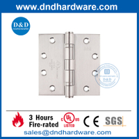 High Quality Stainless Steel 316 Door Hinge with UL Listed-DDSS002-FR-4.5X4.5X3.4