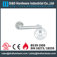 Stainless Steel 316 Chrome Lever Handle for Security Composite Doors-DDTH027