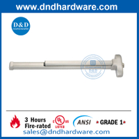 SS304 Fire Door Touch Bar Rim Exit Device -DDPD001