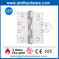 UL Listed SS201 Fire Rated Heavy Duty Butt Hinge-DDSS006-FR