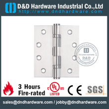 SS 304 UL 2BB Hinge for Wooden Door-DDSS001
