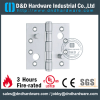 Stainless Steel 201 Double Security Hinge for Wooden Door with PVD-DDSS014