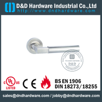 304 Grade Antirust Designer Lever Handle for Internal Bathroom Door-DDTH023