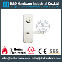 Stainless Steel Escutcheon Lever Trim for Fire Exit Double Door -DDPD018