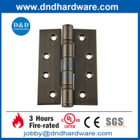 SS304 Antique Brass Fire RatedDoor Hinge for Metal Door -DDSS001
