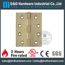 DDBH007-Solid Brass Square Corner Hinge for Steel Door