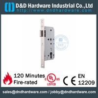 Fire Rated Stainless Steel Door Lock for Metal Door-DDML011